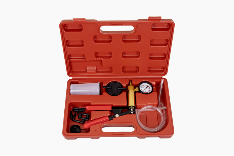 Hand-held Manual Vacuum Pump Brake Bleeder Kit